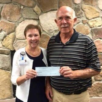 Optimists Donate to Hospice